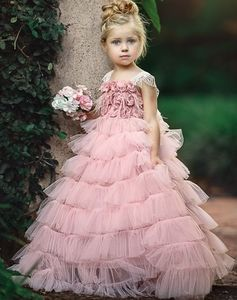 Dollcake shower her with flowers pink dress gown